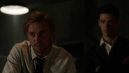Julian Albert and Barry Allen watch video when Rival dead (1)