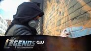 DC's Legends of Tomorrow Hawkgirl Mural Timelapse The CW