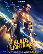 Black Lightning season 4 poster - Power Up
