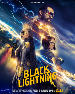 Black Lightning season 4 poster - Power Up.png