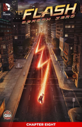 The Flash Season Zero chapter 8 digital cover