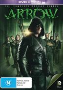 Arrow - The Complete Second Season region 4 cover