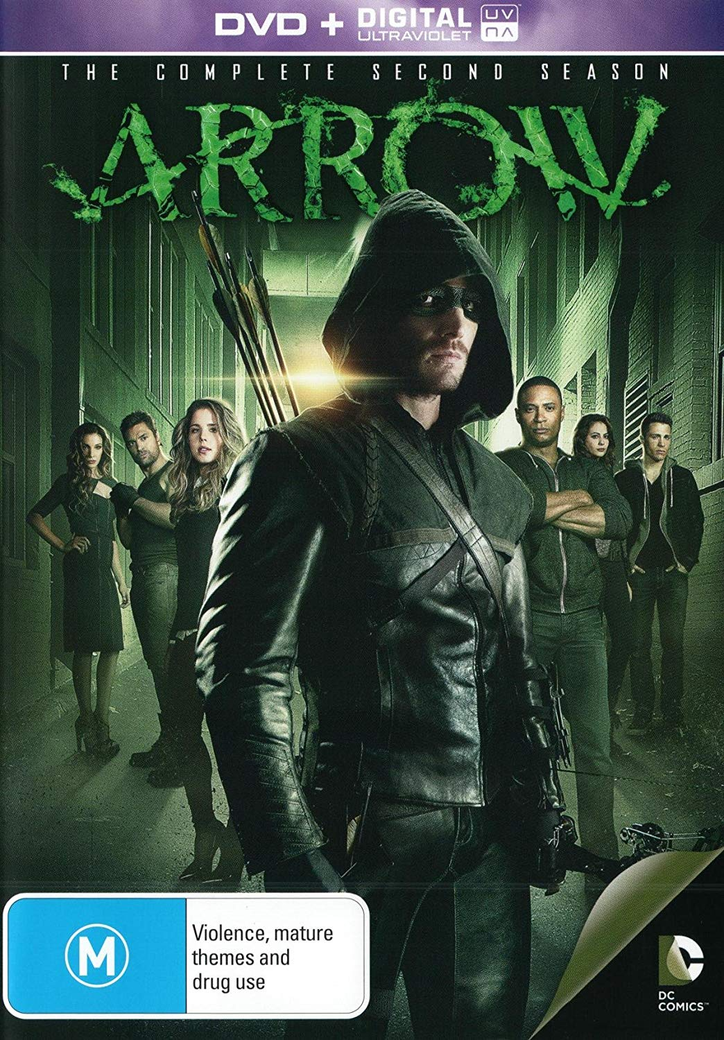 Arrow - The Complete Second Season region 4 cover.png