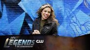 DC's Legends of Tomorrow Hawkgirl Mural Revealed The CW
