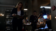 Patty Spivot receives the results of the Barry Allen (1)