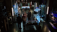 Roy welcomed on Team Arrow in the Arrowcave