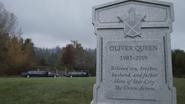 Oliver's gravestone in 2020