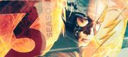 The Flash season 3 banner