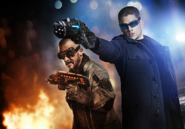 Captain Cold and Heat Wave - Opposites Attract