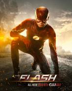 Poster da T2 de Flash - Ajoelhe-se perante Zoom