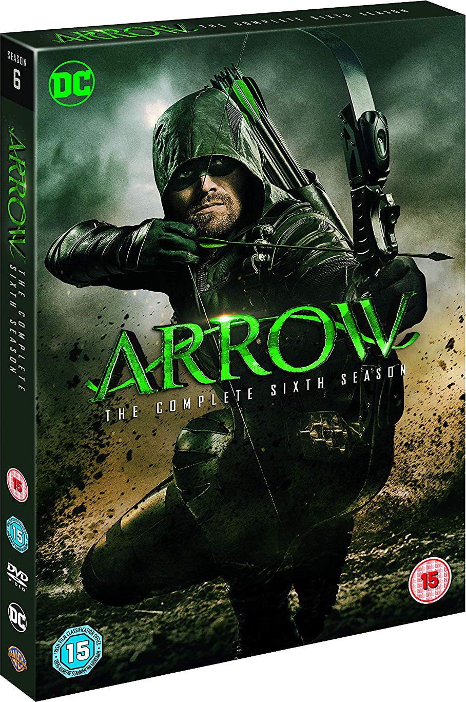 Arrow - The Complete Sixth Season region 2 cover.png