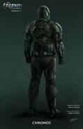 Chronos concept art-back