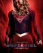 Poster da T4 de Supergirl