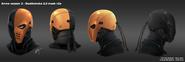 Deathstroke (helmet) concept art