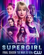 Supergirl, 6ª temporada - Melhor. Mais fortes. Juntos