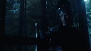 Damien Darhk alias Black Knight fight with King Arthur