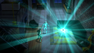 Hologram z innego świata opowiada Rayowi i Johnowi historię (1)