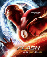 The Flash season 2 poster - Everything Changes in a Flash