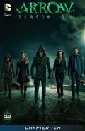 Arrow Season 2.5 chapter 10 digital cover