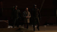 Green Arrow and Spartan brought Anatoly to James