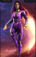 Starfire - Concept Art - Season 3