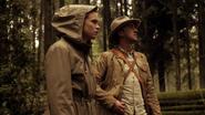 Julian Albert and Caitlin Snow in Earth-2