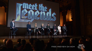 The Legends at the premiere event for their documentary