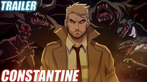 Constantine Temporada 2 NYCC Trailer (Serie Animada) CW Seed (Sub Español)