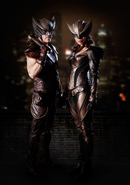 Hawkman and Hawkgirl first look
