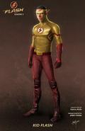 Kid Flash concept art