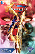 Adventures of Supergirl chapter 6 full cover