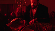 Vandal Savage on the rite of blood (4)