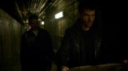 Mark Mardon, Leonard Snart and James Jesse escape in IH (4)