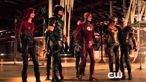 The Flash Arrow Legends of Yesterday Promo 2