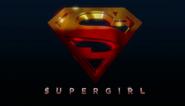 Title card da T1 de Supergirl