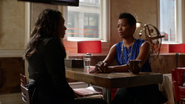 Francine West and Iris West talk on her sick and son (11)
