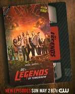 DC's Legends of Tomorrow Season-6 Poster