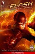 The Flash Season Zero chapter 4 digital cover
