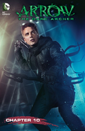 Arrow The Dark Archer chapter 10 digital cover