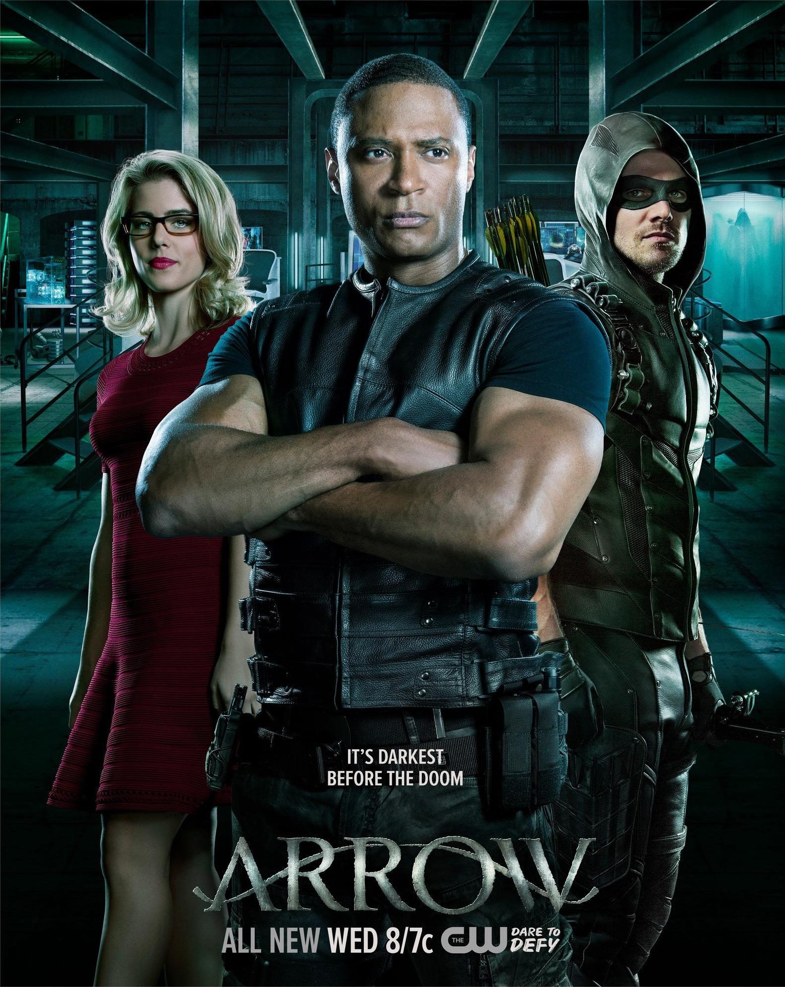 Arrow season 4 poster - It's Darkest Before the Doom.png