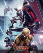 Crisis on Earth-X second poster - villains