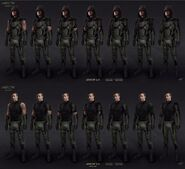 Arrow 3.0 suits concept art