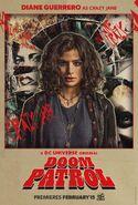 Doom Patrol - Crazy Jane poster