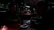 Leonard Snart talk Barry Allen on dinner (1)