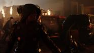 Green Arrow (Connor Hawke) fight Deathstroke (Grant Wilson) (8)