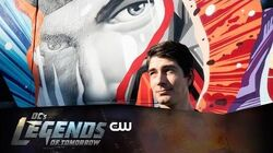 DC's Legends of Tomorrow Atom Mural Revealed The CW