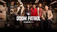 Doom Patrol banner promo