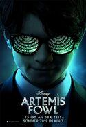 Artemis Fowl German Poster
