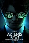 Artemis Fowl French Poster