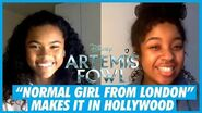 """Just a Normal Girl From London"" - Tamara Smart Artemis Fowl Interview"